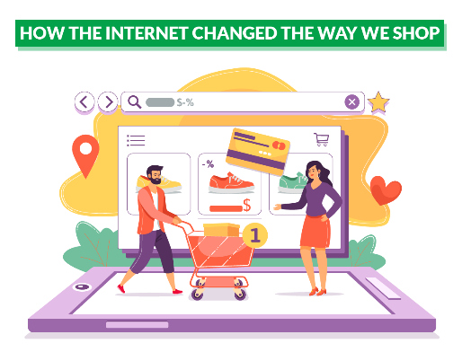 Internet Changed the Way We Shop